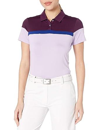 adidas Golf Mujer Color Bloqueado Polo de Manga Corta: Amazon.es ...