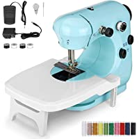 Chanarily Upgraded Sewing Machine, Portable Multifunctional Electric Sewing Machines for Beginners, Adjustable 2-Speed 2…