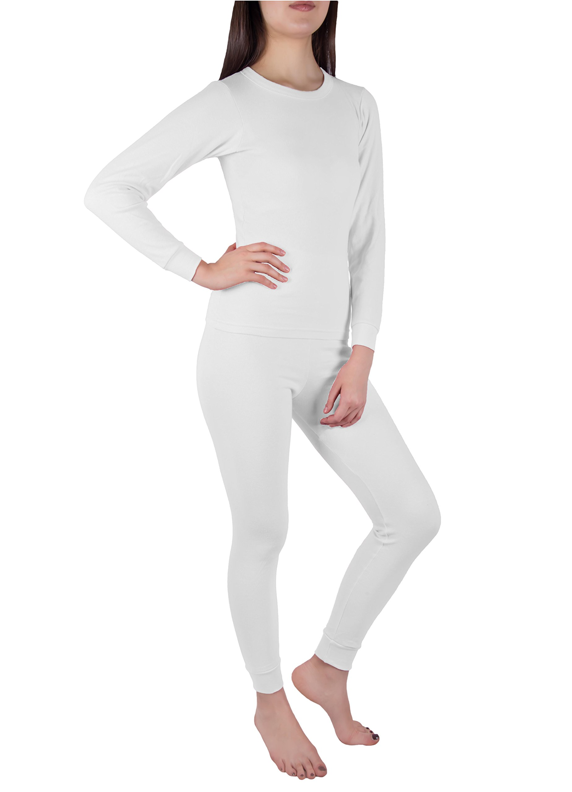 Just Love 2-Piece Womens Thermal Underwear Set Waffle Knit Base Layer  Thermals 8f6204bd4