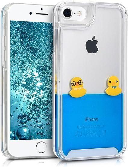 Kwmobile Coque pour Apple iPhone 7/8 avec Liquide Couverture de ...