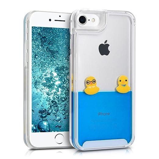 2 opinioni per kwmobile Cover Apple iPhone 7 / 8- custodia rigida con liquido hard case