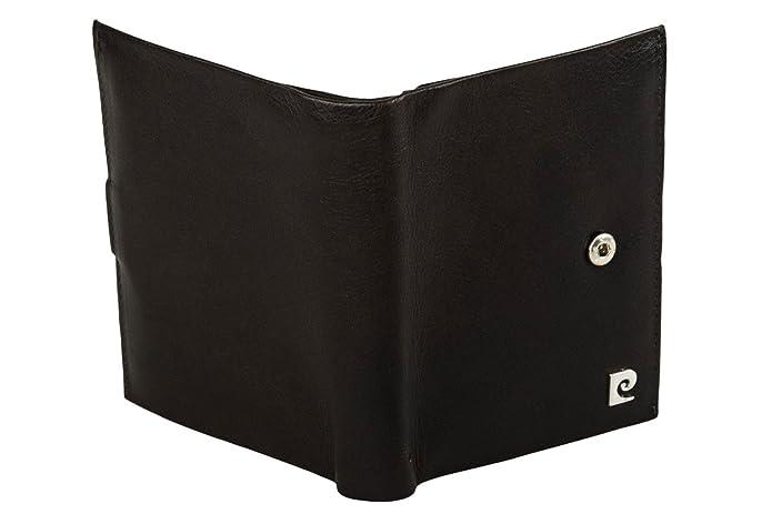 828a2a8822c2e Portemonnaie herren vertikal PIERRE CARDIN moro leder mit öffnung knopf  A4916  Amazon.de  Schuhe   Handtaschen