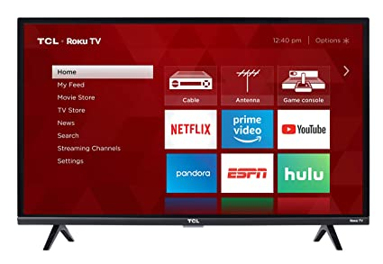 89650036e Amazon.com  TCL 32S327 32-Inch 1080p Roku Smart LED TV (2018 Model ...