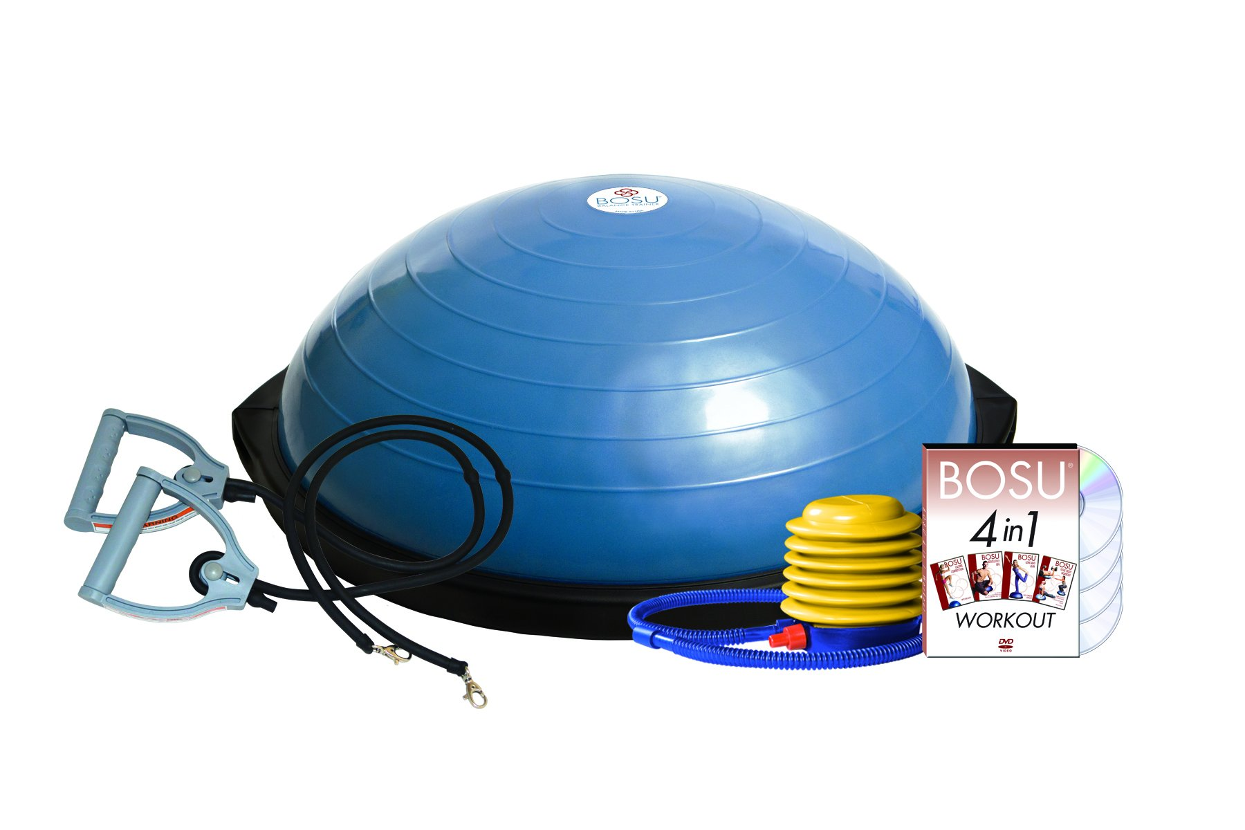 Bosu Balance Trainer with Resistance Bands by Bosu