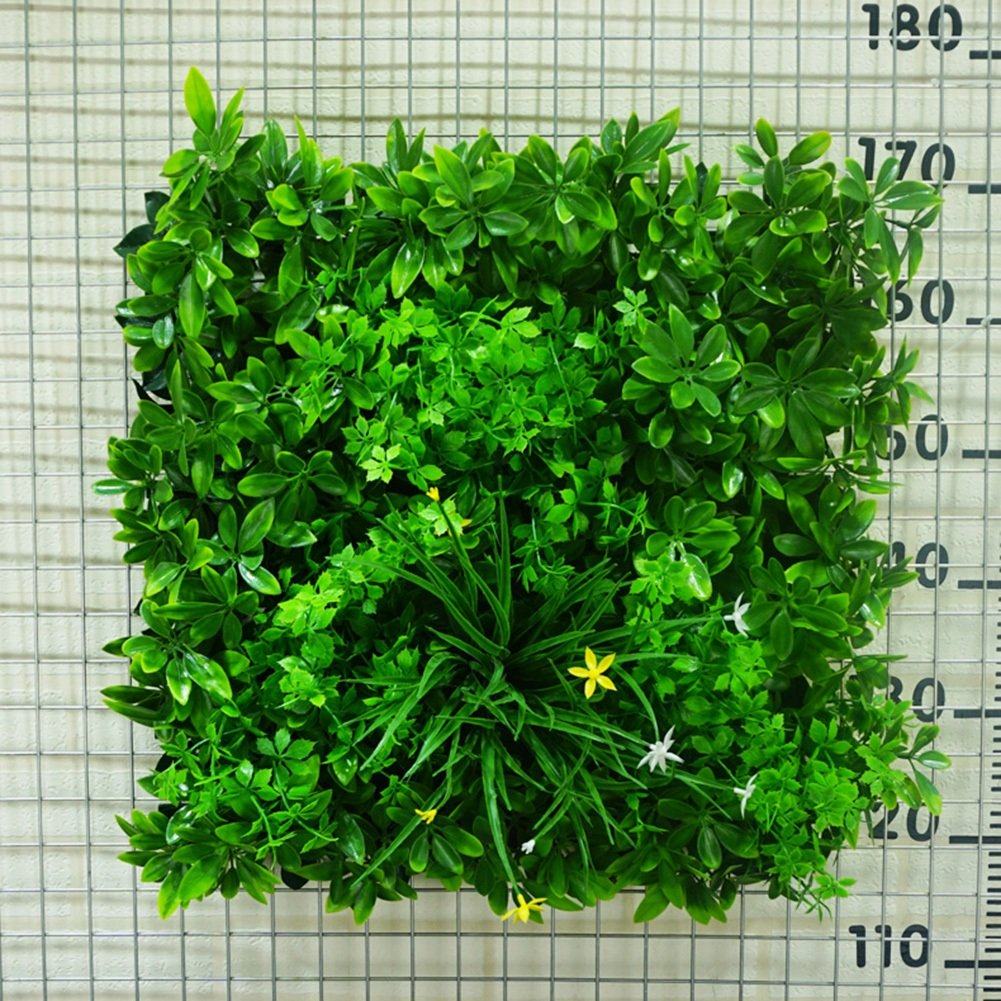 WENZHE 人工 フェイクアイビー 緑の植物のシミュレーション 壁掛け式 インドア アウトドア 背景壁 暗号化 現実的な グリーン 芝生 装飾品、 50×50cm (色 : 2 pieces) B07DB3DF6Y 2 pieces 2 pieces