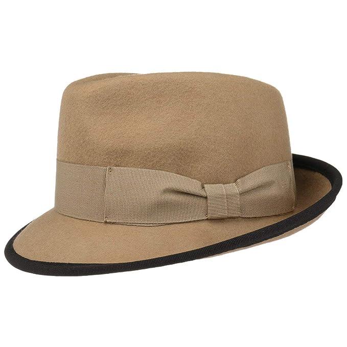 Lipodo Cappello di Feltro The Classic Lana Fedora  Amazon.it  Abbigliamento 90757613aa95