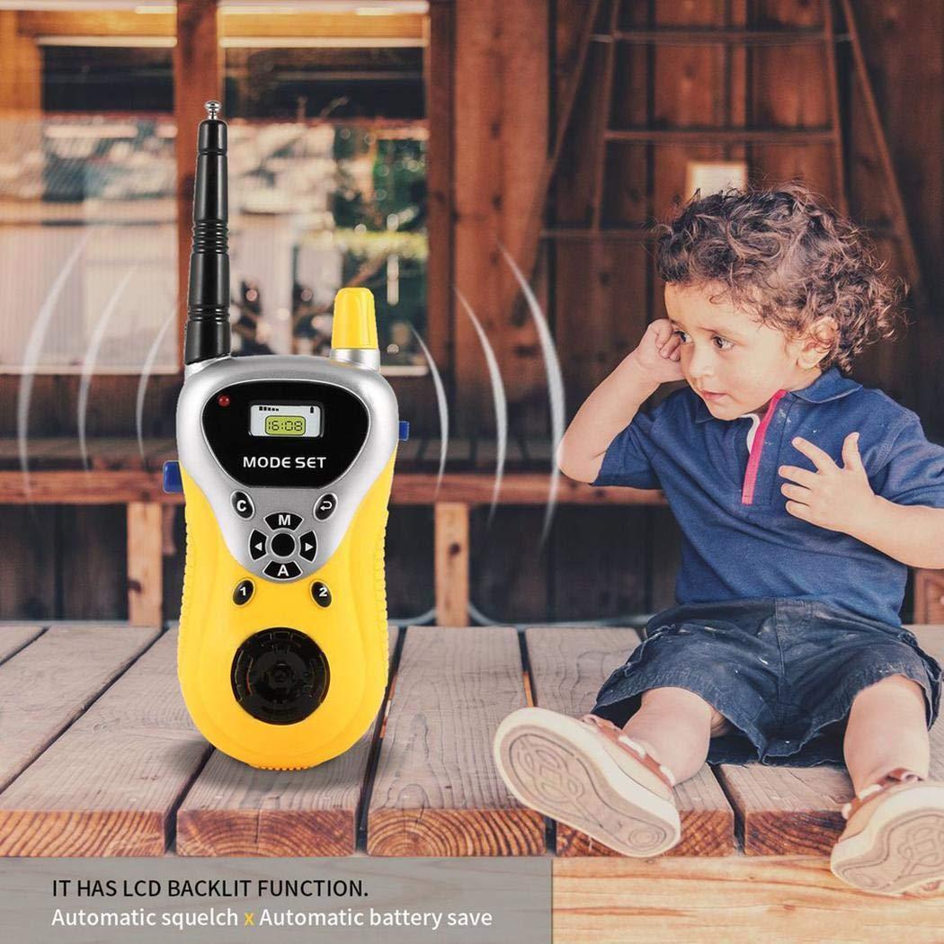 hiriyt Kids Mini Electronic Portable Handheld Two-Ways Radio Walkie Talkie Toy Walkie Talkies by hiriyt (Image #4)