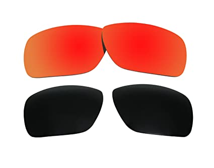 63d22ac2400 2 Pairs Polarized Replacement Sunglasses Lenses for Oakley Dispatch ...
