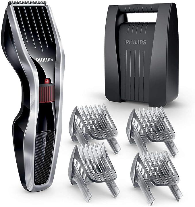 Philips HAIRCLIPPER Series 5000 HC5440/83 cortadora de pelo y maquinilla Negro, Plata Recargable - Afeitadora (Negro ...