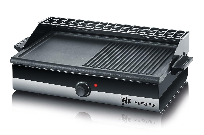 Severin Elektrogrill Smart Line : Amazon.de: severin kg 2367 barbecue grill smart line schwarz