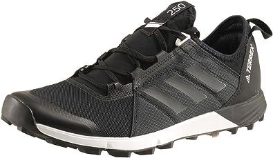 intermitente argumento Pelágico  Amazon.com | adidas Terrex Agravic Speed Shoe - Men's Trail Running 10.5  Black/White | Trail Running