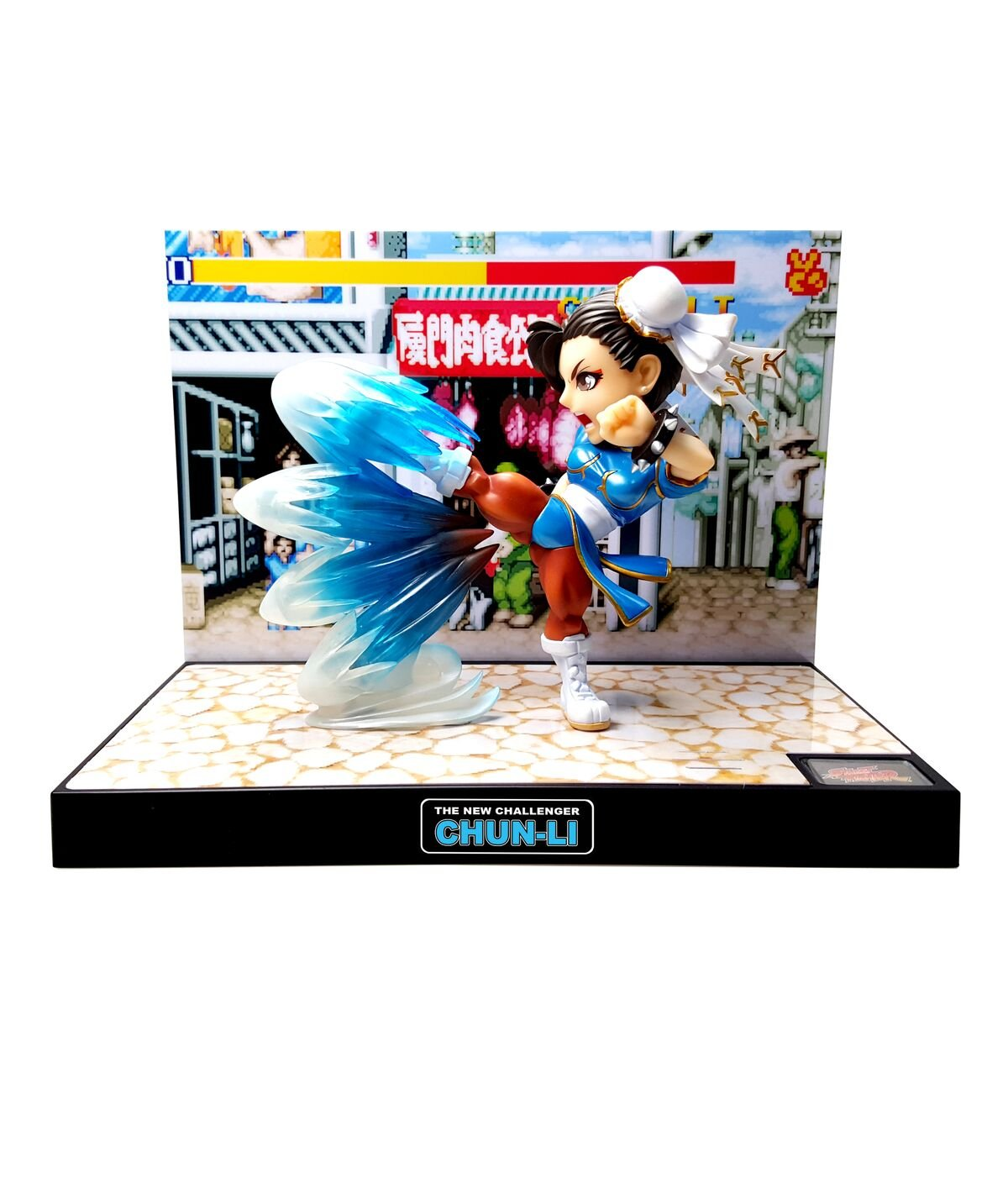Tier1 Accessories Chun-Li Street Fighter Fully Licensed LED Light and Sound Figure - PlayStation 3;PlayStation 2;PlayStation;