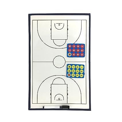 Pizarra magnética de entrenamiento para fútbol y baloncesto ...