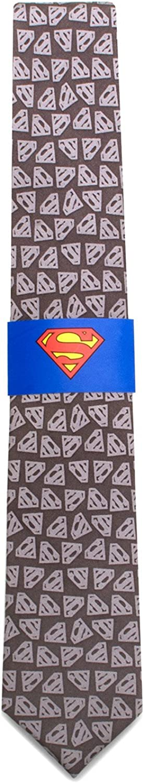 Superman Shield Big Boys Silk Tie