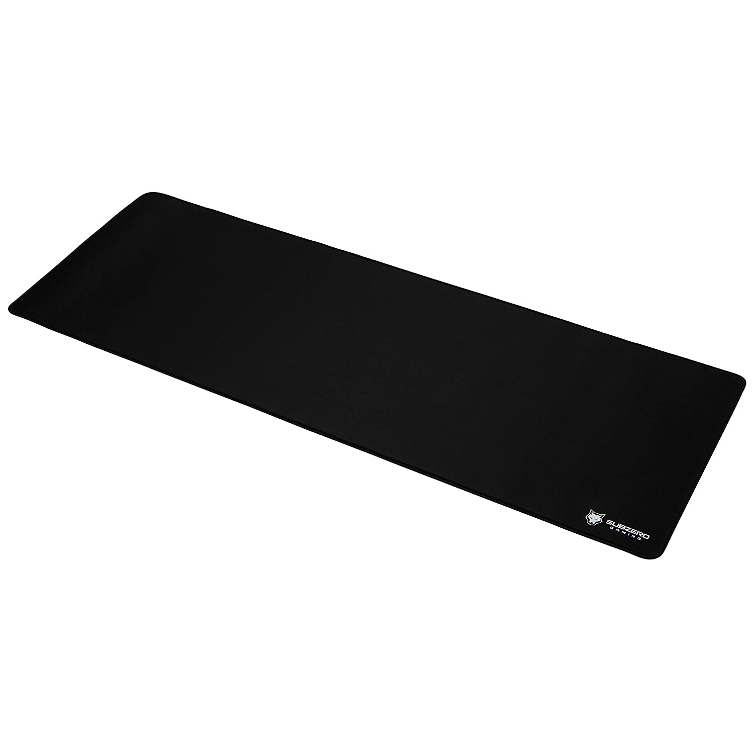 """SubZERO Gaming TYKA Extended Soft Gaming Mouse Pad / Mat, Long XL Mousepad, Stitched Edges, 36""""x12"""" (Black)"""