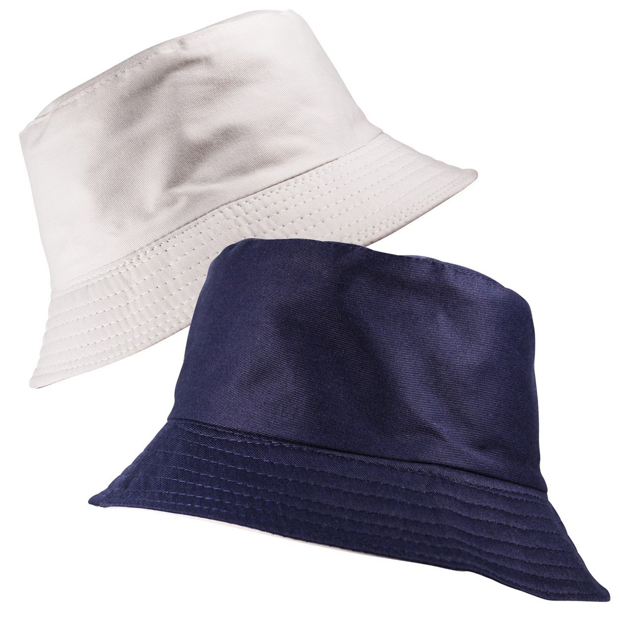 Classic Reversible Bucket Bush Hat 2 in 1 Plain Boonie Sun Unisex Mens Womens in Multiple Colours