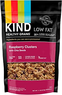 product image for KIND Healthy Grains Clusters, Raspberry with Chia Seeds Granola, Gluten Free, 11 Ounce Bags, 1 Count