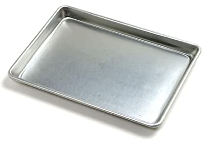 Norpro 3274 Jelly Roll Baking Sheet, Aluminum, 12 inches x 9 inches x 1 inches