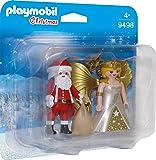 Playmobil 9498 Christmas Santa and Christmas Angel with Star Staff