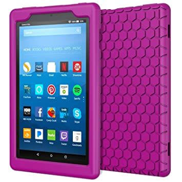 2376ff7fcef8 Amazon.com  MoKo Case for All-New Amazon Fire HD 8 Tablet (7th 8th ...