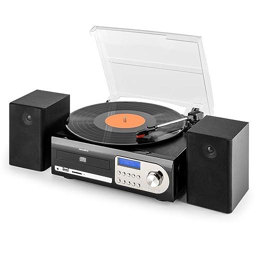 New Majestic TT-38 - Tocadiscos para Equipo de Audio, Negro