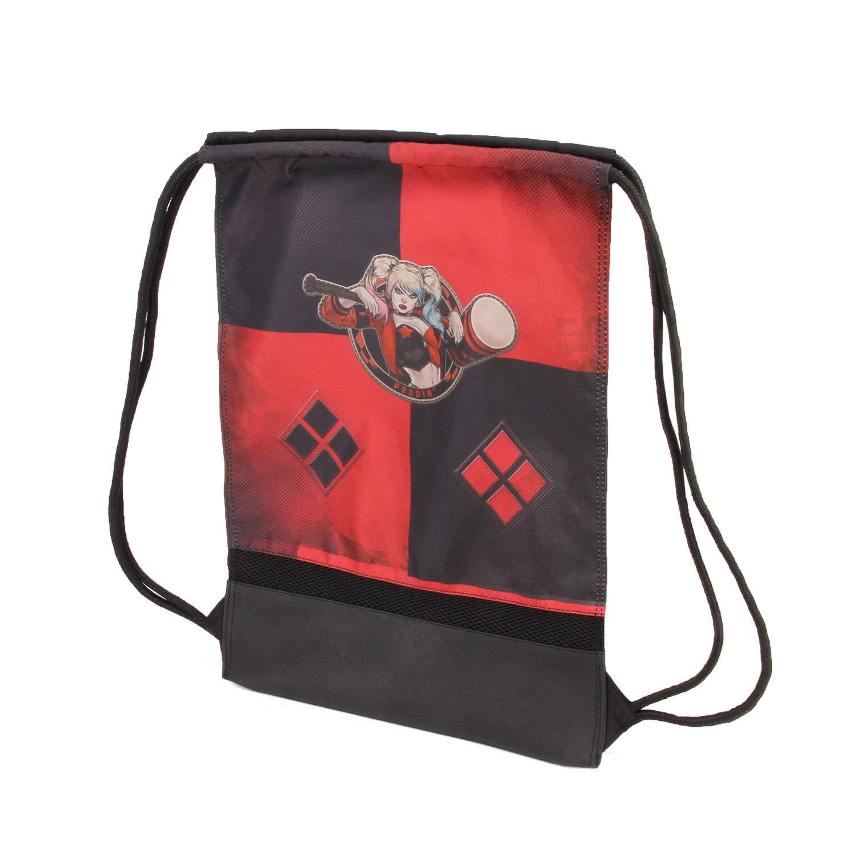 Multicolour Karactermania Harley Quinn Puddin-sacca Storm Bolsillo Suelto para Mochila 48 Centimeters