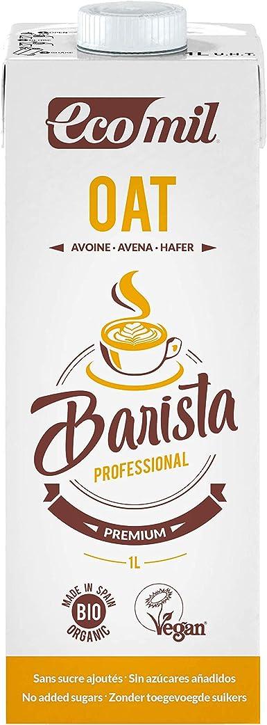 Ecomil Barista Oat/Avena 1L. Bebida de avena especial para barista. Sin lactosa, sin azúcares añadidos, sin soja,sin huevo, sin proteína láctea, con bajo contenido en sal y vegano: Amazon.es: Alimentación y bebidas