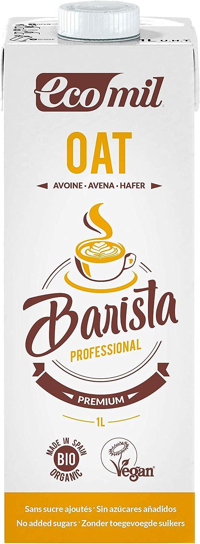 Ecomil Barista Oat/Avena 1L. Bebida de avena especial para barista ...