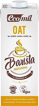 Ecomil Barista Oat/Avena 1L. Bebida de avena especial para ...