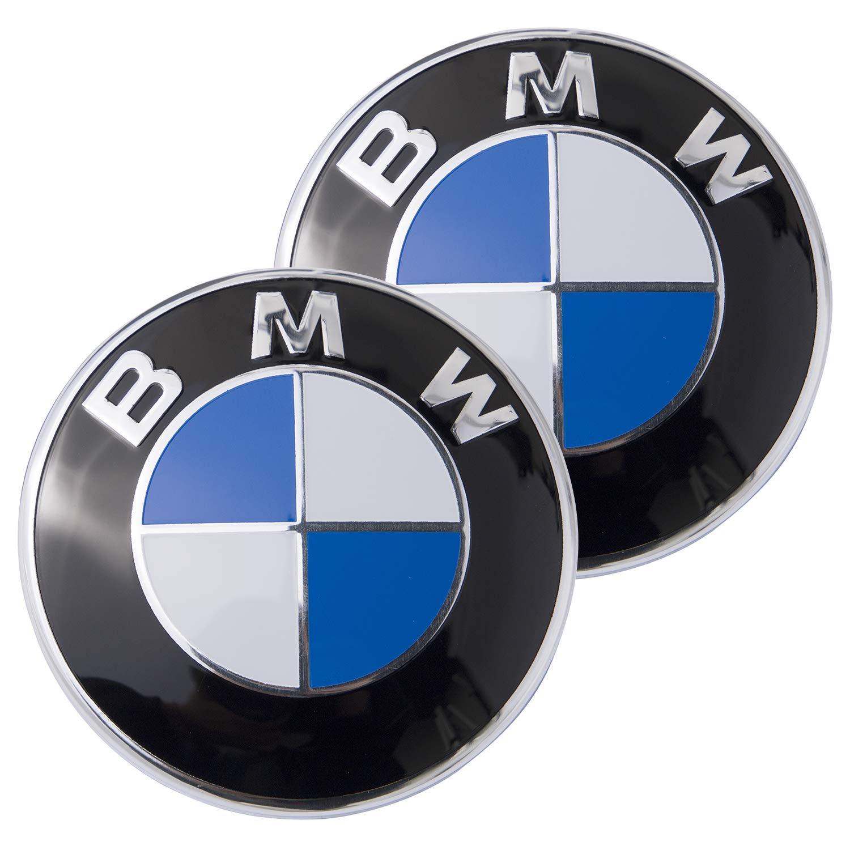 Emblem Logo Replacement for ALL Models BMW Hood//Trunk E30 E36 E34 E60 E65 E38 X3 X5 X6 3 4 5 6 7 8 82mm