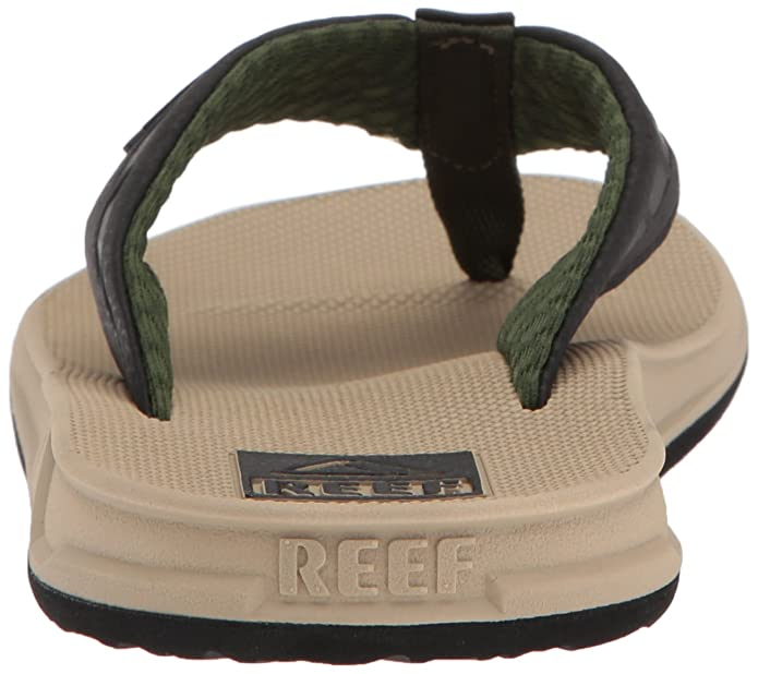 2d46b0f6a3f87 Amazon.com: Reef Mens Sandals Phantom | Athletic Flip Flops For Men With  Contoured Footbed | Waterproof: Shoes