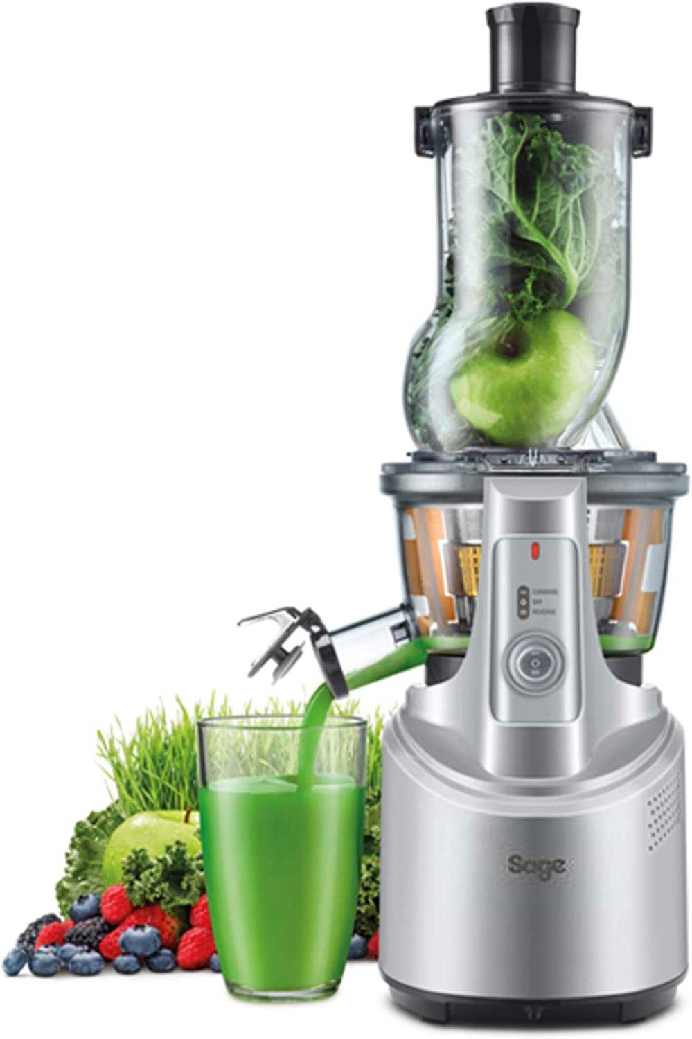 Sage SJS700SIL Big Squeeze Juicer, Stainless Steel