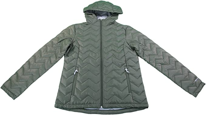 Free Country Womens Ultrafill Series Quilted Jacket Olive Fern Green