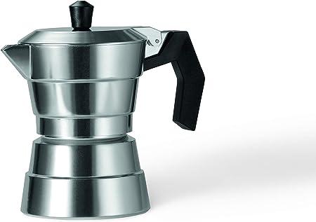 Moneta Buongiorno Cafetera, 1 Taza, Aluminio: Amazon.es: Hogar
