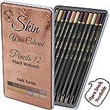 Skin Tone Color Pencils | Portrait Set | Colored Pencil for Adults | Skintone Artist Pencils