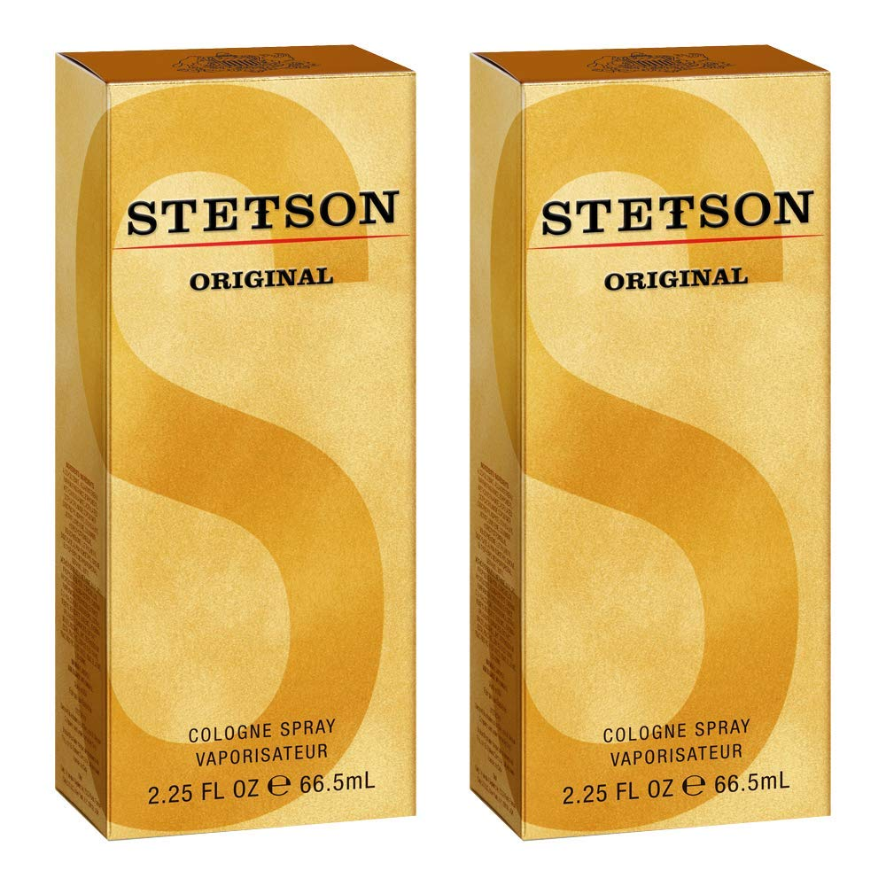 Stetson Original Cologne Spray By Stetson, 2.25 Fluid Ounce, 2 Count