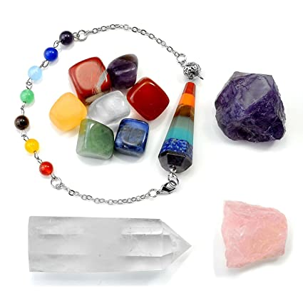 Natural Chakra Crystal Point Energy Collector Clear Quartz Crystal Obsidian Great For Meditation Reiki Healing Stone As Gift Beautiful In Colour Ornaments