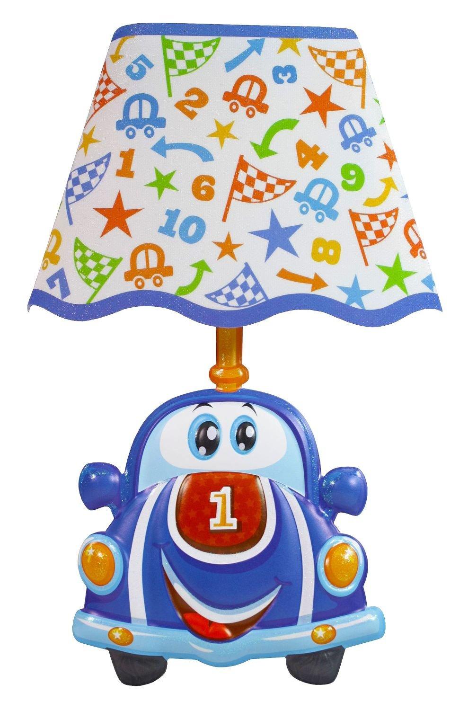 Tr/ötsch Wandsticker mit Licht Auto Glitzer-Lampenschirm