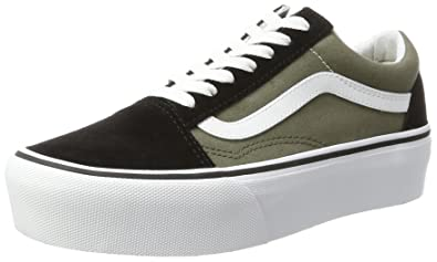 635c9a70b09 Vans Old Skool Platform Green