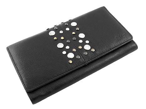 Mador Wallet 36379B Monedero, 18 cm, Negro (Black): Amazon ...