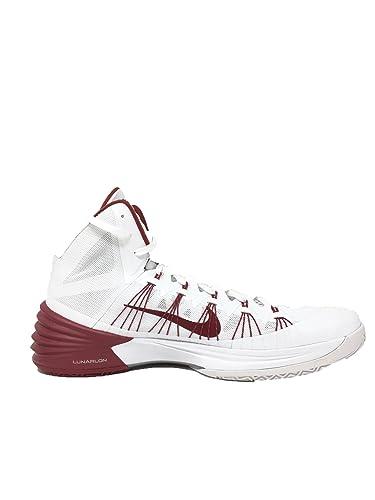 25a8783c7eef ... purchase nike hyperdunk white red lunarlon basketball shoes 17.5 7b269  bfe98