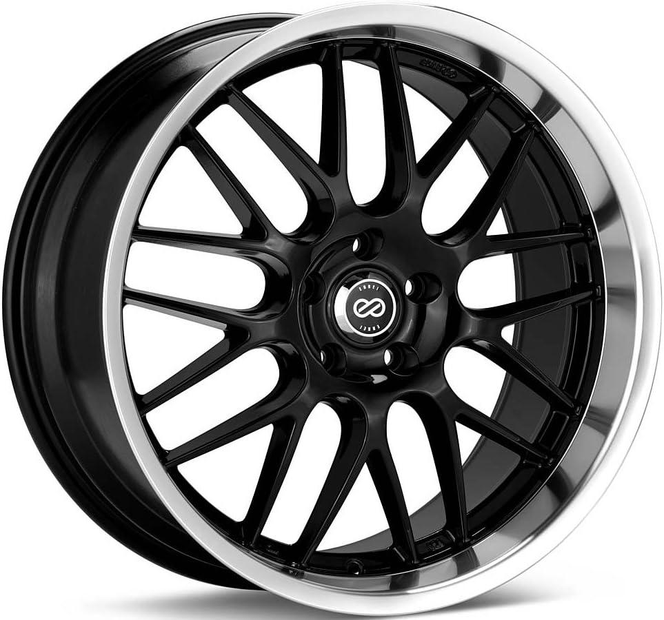 18x8 Enkei Lusso (Black) Wheels/Rims 5x114.3 (469-880-6540BK)