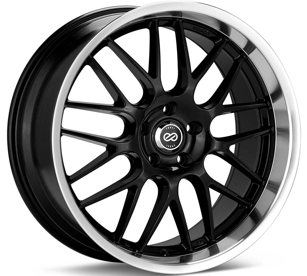 18x7.5 Enkei Lusso (Black) Wheels/Rims 5x110 (469-875-5142BK)
