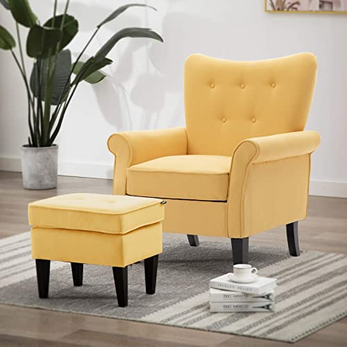 Artechworks Tufted Accent Chair