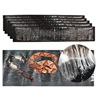 """Sam4shine Extra Large PU Leather Mouse Glue Mats(46"""" 11""""), Strong Adhesive Rats Glue Traps Mats, Peanut Butter Scented for Pest, Insect, Mice, Rats, Rodents, Cockroaches, Snakes, Spiders"""