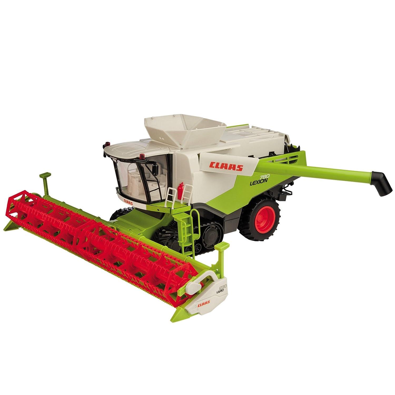 #0107 RC Mähdrescher Claas Lexion 780 Farm Landwirtschaft Bauernhof Ernte Maschine • Maßstab 1:20 Länge 46 cm