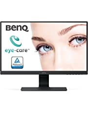 BenQ GW2480, Écran Eye-Care de 23.8 pouces, Affichage FHD 1920 x 1080, IPS, Brightness Intelligence,  Low Blue Light, Flicker-Free, Cadre ultra-fin, HDMI