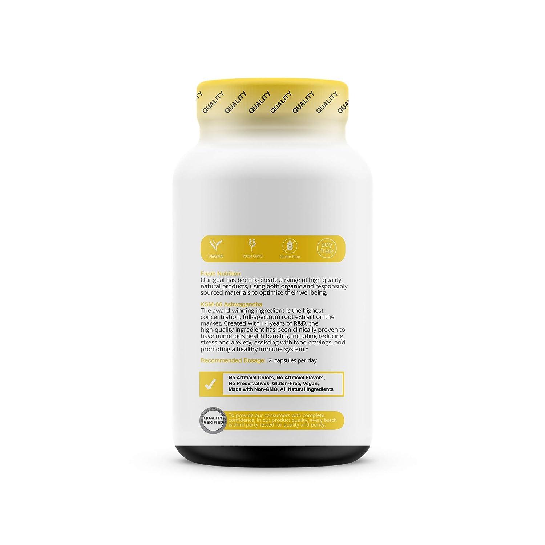 Amazon com: KSM-66 Ashwagandha - Organic Root Extract