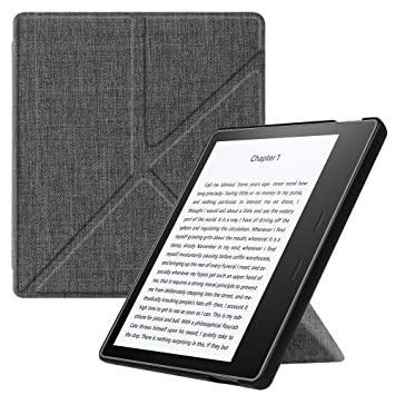 new product b6974 27608 Fintie Origami Case for All-New Kindle Oasis (10th Generation, 2019 Release  & 9th Generation, 2017 Release) - Slim Fit Stand Cover Support [Hands ...