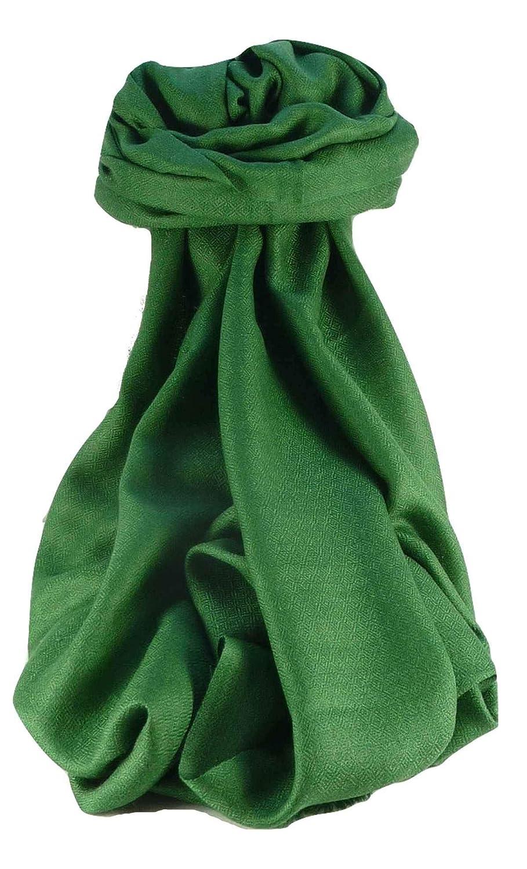 Fine Cashmere Scarf Karakoram BirdsEye Weave Sage by Pashmina & Silk